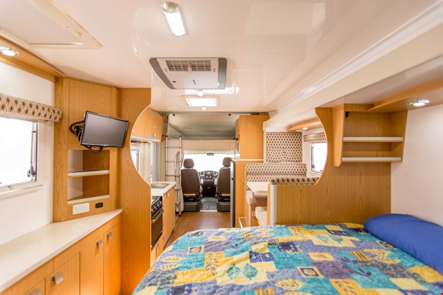 Apollo Motorhome Holidays Australia, Euro Slider Internal 2