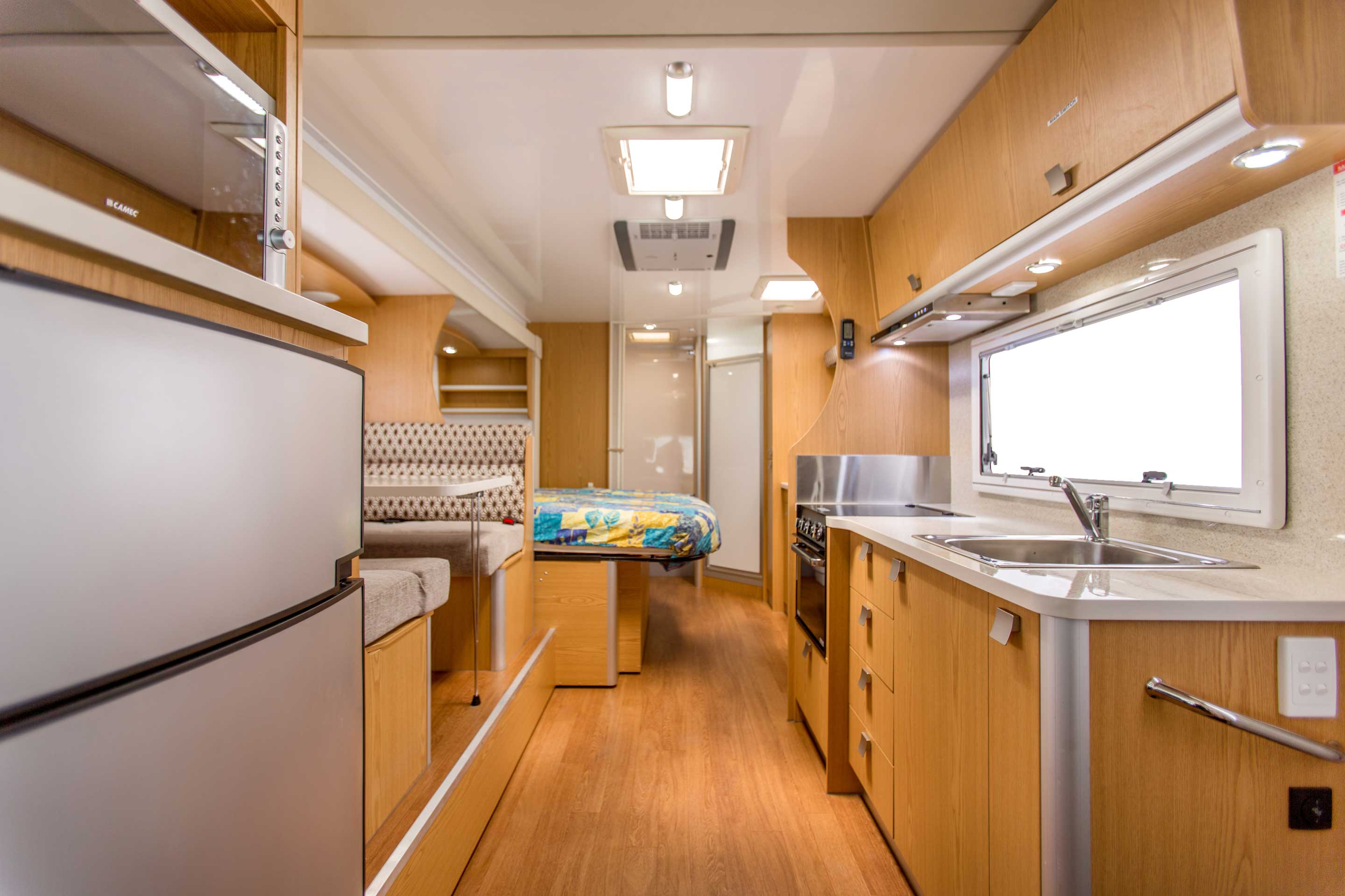 Apollo Motorhome Holidays Australia, Euro Slider Internal 3