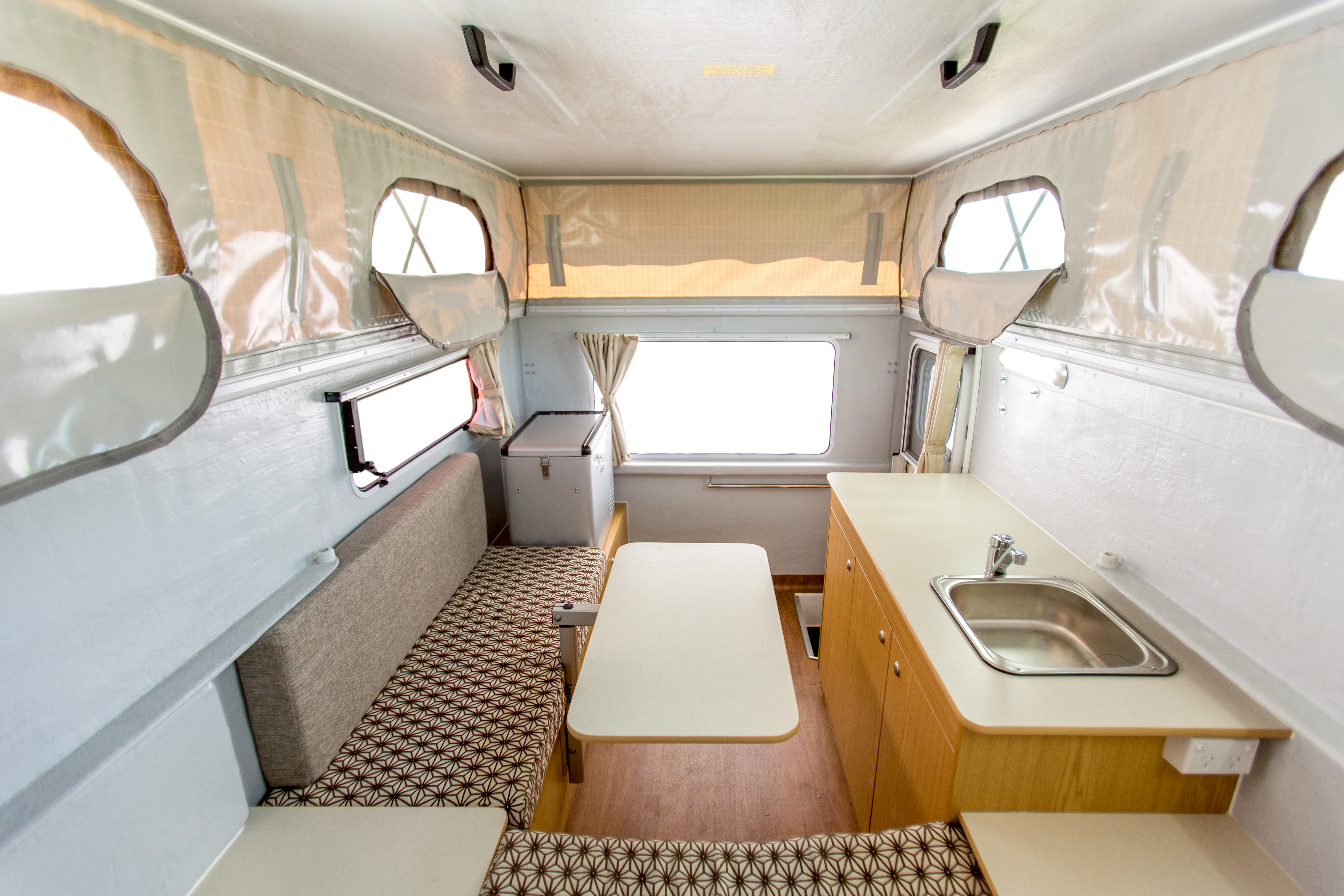 Apollo Motorhome Holidays Australia, Adventure Camper Internal