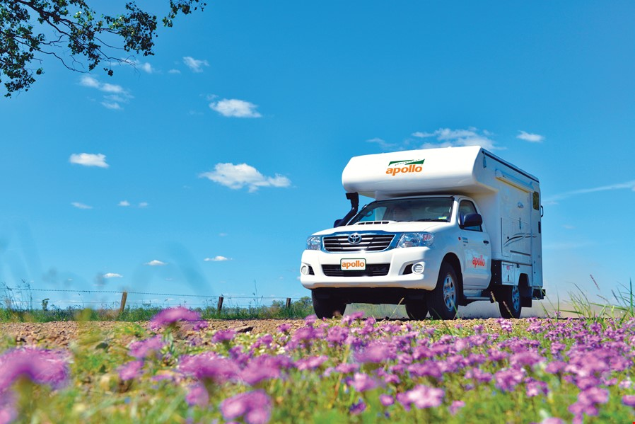 Apollo Motorhome Holidays Australia, Adventure Camper External 1