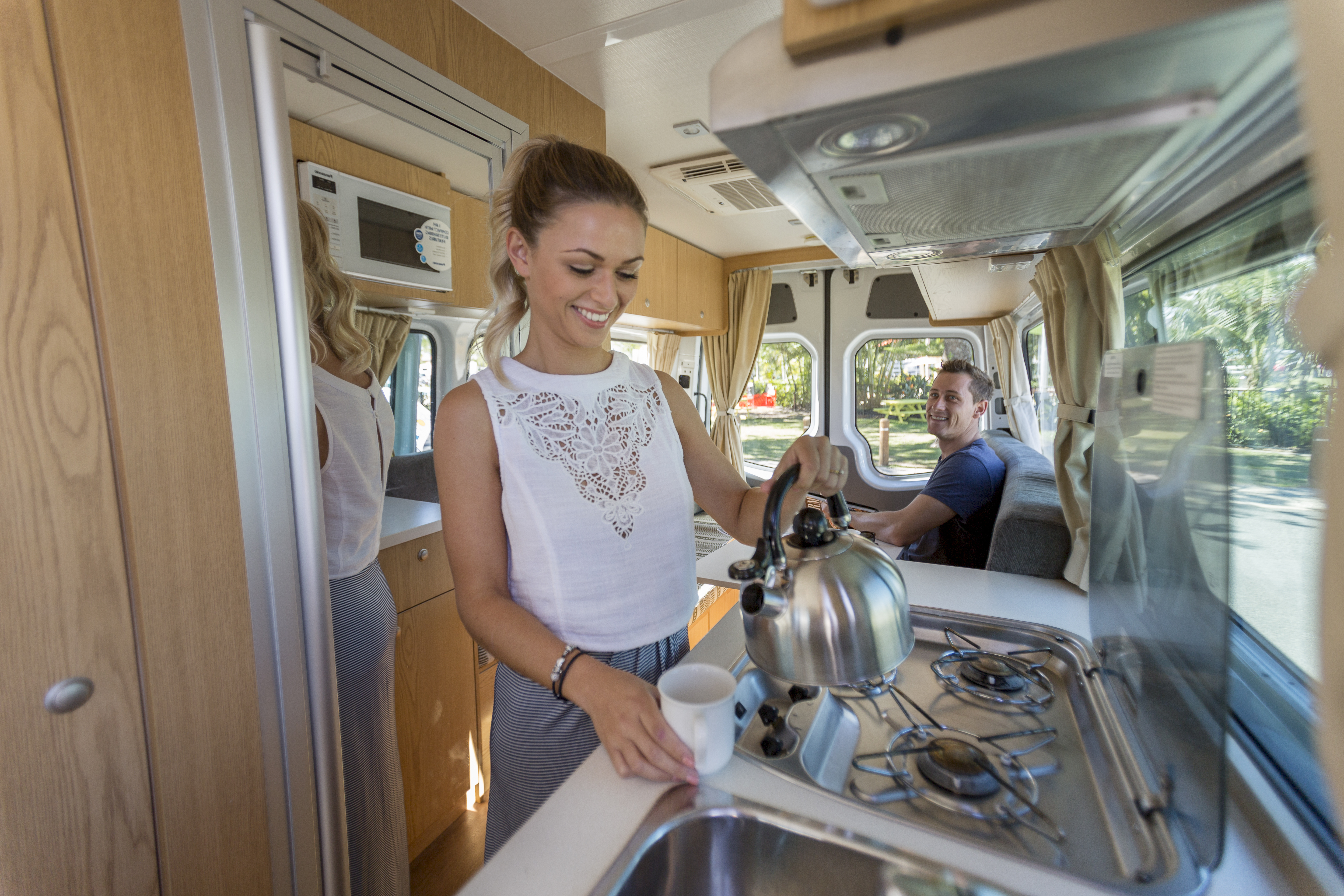 Apollo Motorhome Holidays Australia, Euro Tourer Internal 2