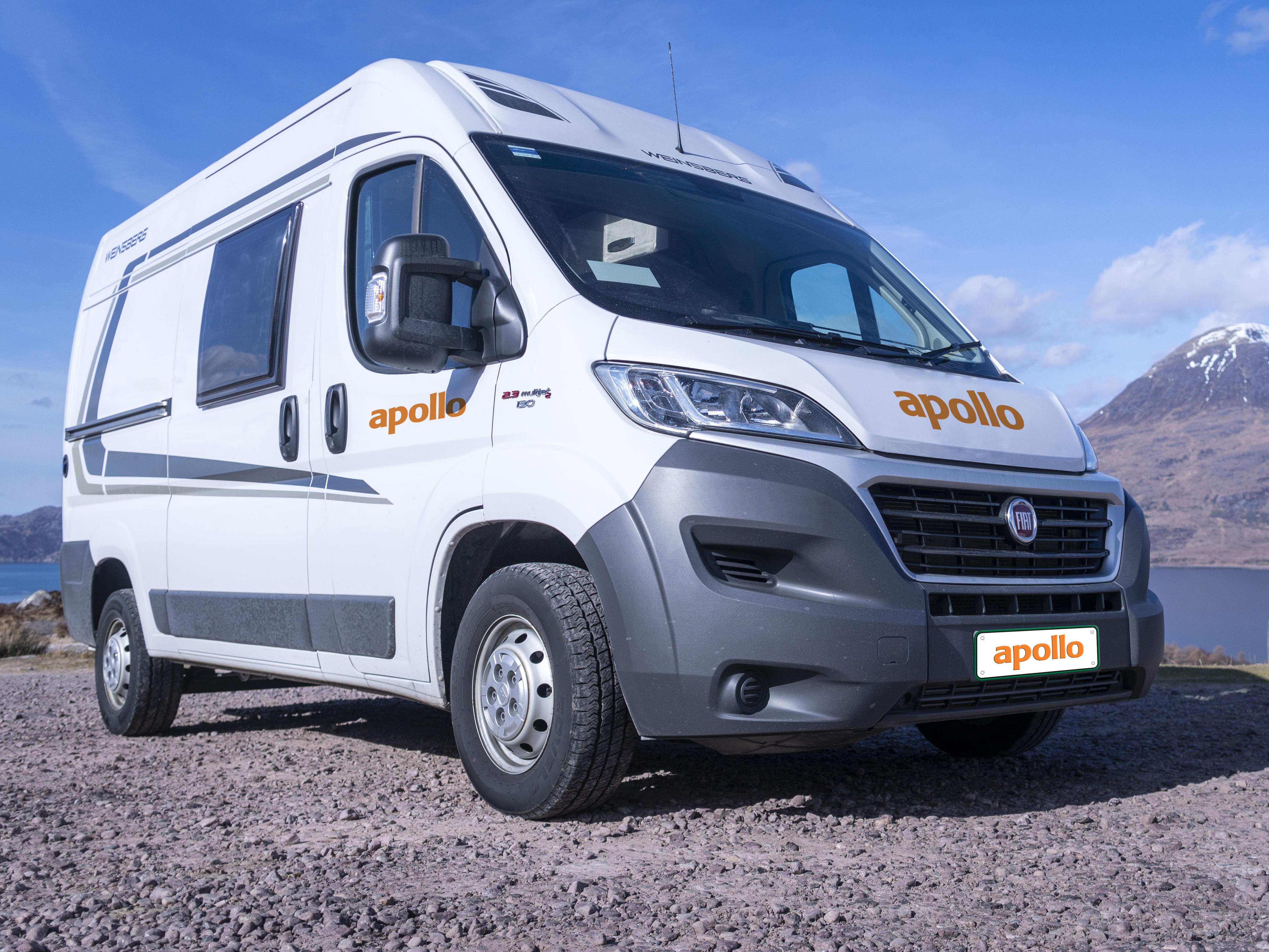 Campervan & Motorhome Rental vehicles - Apollo Motorhomes